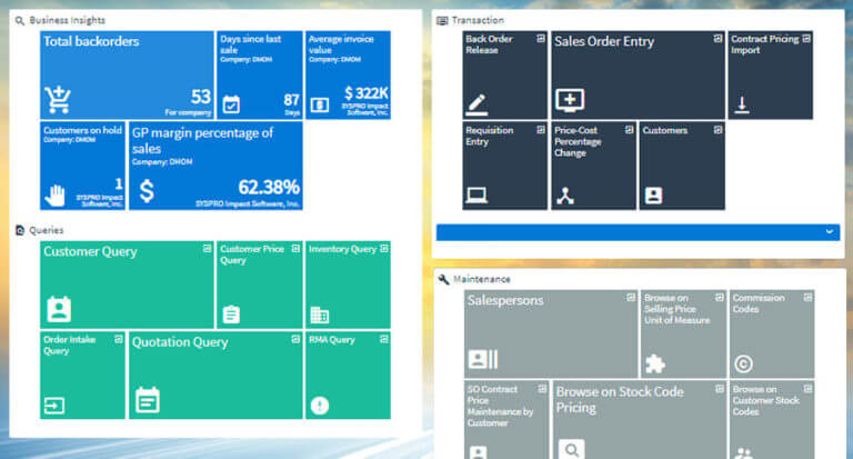 SYSPRO-ERP-software-system-Order-Management